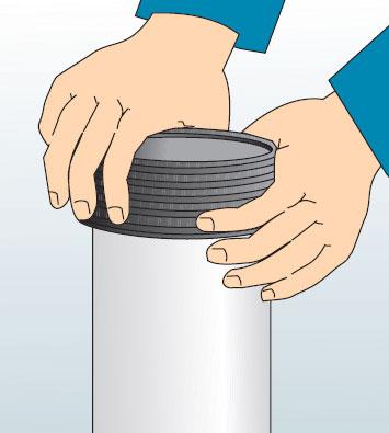 Гофрированные ПЭ трубы FD Plast для канализации