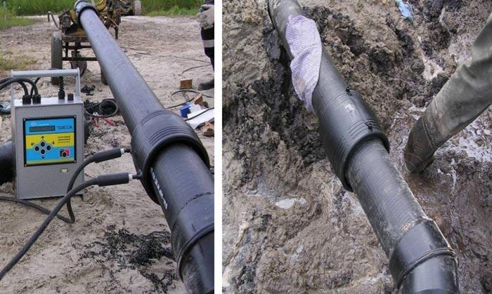 Монтаж трубопроводов из неметаллических труб