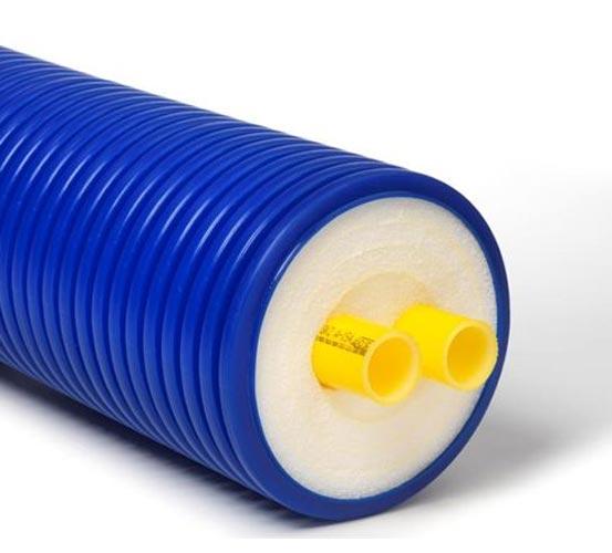 Труба из сшитого полиэтилена для теплотрасс 176